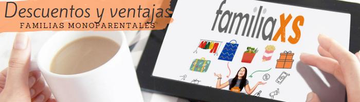 Logo Consigue los mejores descuentos para familias monoparentales